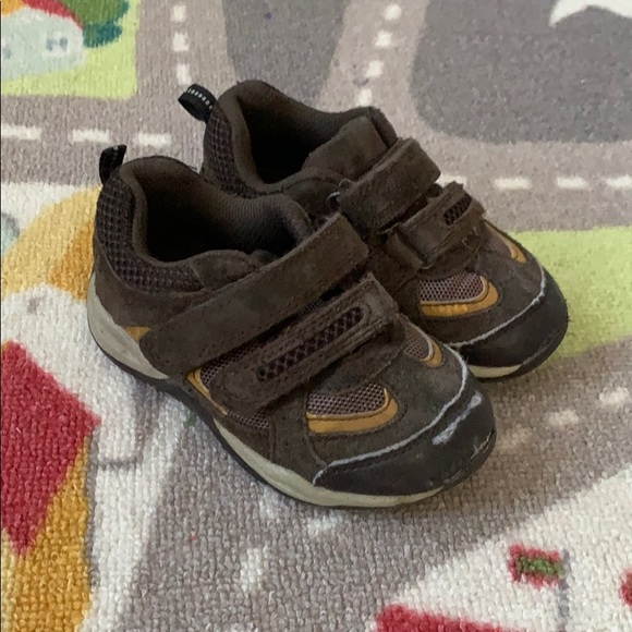 Target Shoes   Boys Brown Velcro
